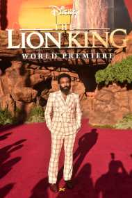 "HOLLYWOOD, CALIFORNIA - JULY 09: Donald Glover attends the World Premiere of Disney's ""THE LION KING"" at the Dolby Theatre on July 09, 2019 in Hollywood, California. (Photo by Alberto E. Rodriguez/Getty Images for Disney)"
