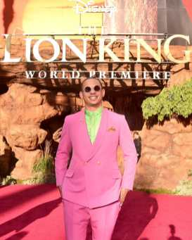 "HOLLYWOOD, CALIFORNIA - JULY 09: Eric Andre attends the World Premiere of Disney's ""THE LION KING"" at the Dolby Theatre on July 09, 2019 in Hollywood, California. (Photo by Alberto E. Rodriguez/Getty Images for Disney)"