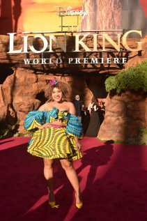 "HOLLYWOOD, CALIFORNIA - JULY 09: Courtney Quinn attends the World Premiere of Disney's ""THE LION KING"" at the Dolby Theatre on July 09, 2019 in Hollywood, California. (Photo by Alberto E. Rodriguez/Getty Images for Disney)"