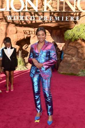 "HOLLYWOOD, CALIFORNIA - JULY 09: Tiffany Haddish attends the World Premiere of Disney's ""THE LION KING"" at the Dolby Theatre on July 09, 2019 in Hollywood, California. (Photo by Alberto E. Rodriguez/Getty Images for Disney)"