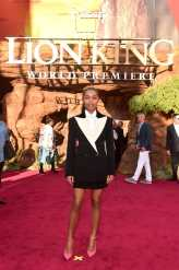 "HOLLYWOOD, CALIFORNIA - JULY 09: Yara Shahidi attends the World Premiere of Disney's ""THE LION KING"" at the Dolby Theatre on July 09, 2019 in Hollywood, California. (Photo by Alberto E. Rodriguez/Getty Images for Disney)"