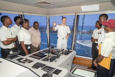 Disney-Hosts-Bahamas-Maritime-Cadet-Corps-Onboard_Bridge