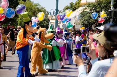 Disneyland 64th Birthday Cavalcade-24