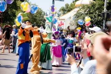 Disneyland 64th Birthday Cavalcade-28