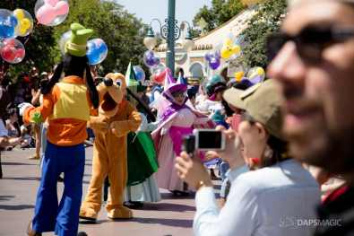 Disneyland 64th Birthday Cavalcade-41