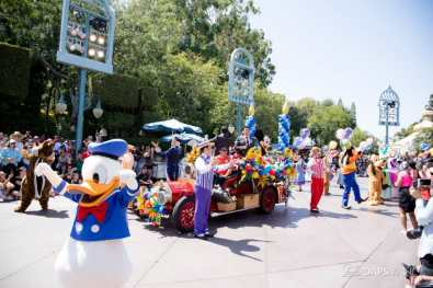 Disneyland 64th Birthday Cavalcade-80