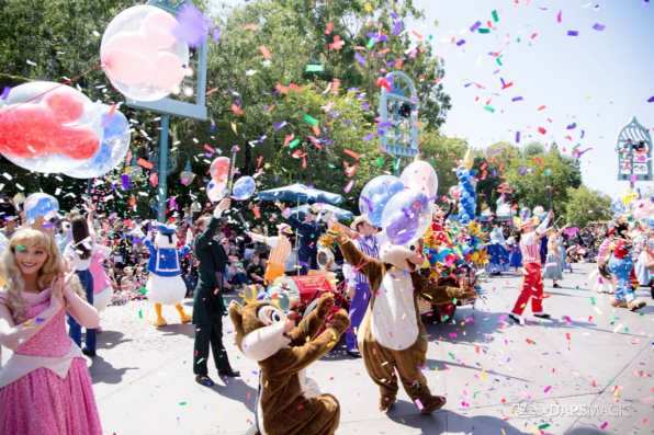 Disneyland 64th Birthday Cavalcade-87