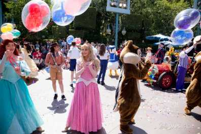 Disneyland 64th Birthday Cavalcade-94