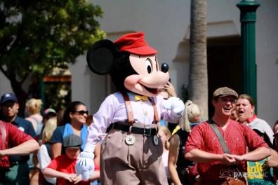 Final Performance Red Car Trolley News Boys at Disney California Adventure-10