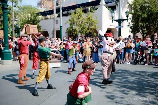 Final Performance Red Car Trolley News Boys at Disney California Adventure-20