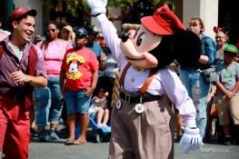 Final Performance Red Car Trolley News Boys at Disney California Adventure-26