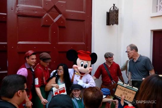 Final Performance Red Car Trolley News Boys at Disney California Adventure-29