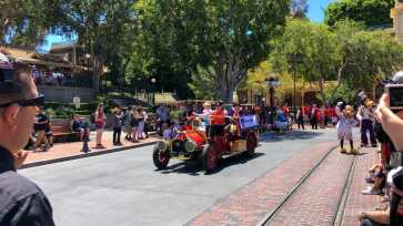 First Performance- Mickey and Friends Band-Tastic Cavalcade at Disneyland-1