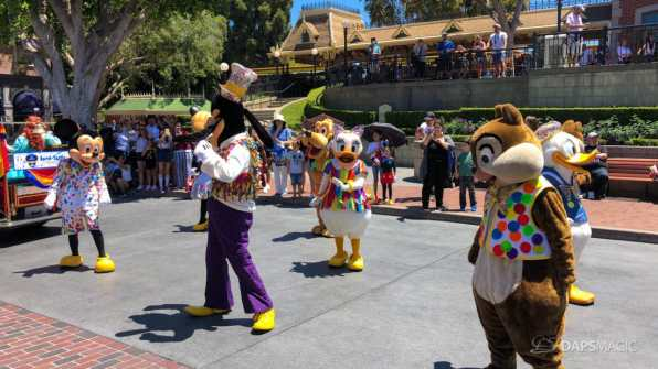 First Performance- Mickey and Friends Band-Tastic Cavalcade at Disneyland-13