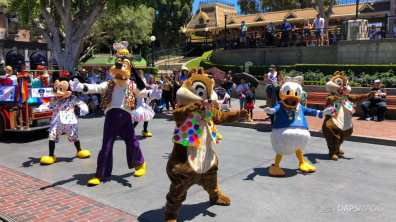 First Performance- Mickey and Friends Band-Tastic Cavalcade at Disneyland-16