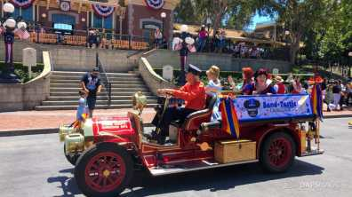 First Performance- Mickey and Friends Band-Tastic Cavalcade at Disneyland-8