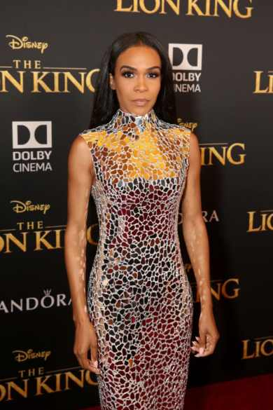 "HOLLYWOOD, CALIFORNIA - JULY 09: Michelle Williams attends the World Premiere of Disney's ""THE LION KING"" at the Dolby Theatre on July 09, 2019 in Hollywood, California. (Photo by Jesse Grant/Getty Images for Disney)"