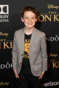 """HOLLYWOOD, CALIFORNIA - JULY 09: Jason Maybaumattends the World Premiere of Disney's """"THE LION KING"""" at the Dolby Theatre on July 09, 2019 in Hollywood, California. (Photo by Jesse Grant/Getty Images for Disney)"""