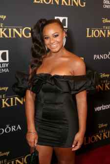 "HOLLYWOOD, CALIFORNIA - JULY 09: Nia Sioux attends the World Premiere of Disney's ""THE LION KING"" at the Dolby Theatre on July 09, 2019 in Hollywood, California. (Photo by Jesse Grant/Getty Images for Disney)"