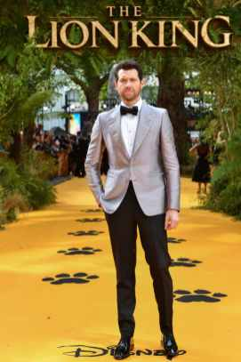 "Billy Eichner attends the European Premiere of Disney's ""The Lion King"" at the Odeon Leicester Square on 14th July 2019 in London, UK"