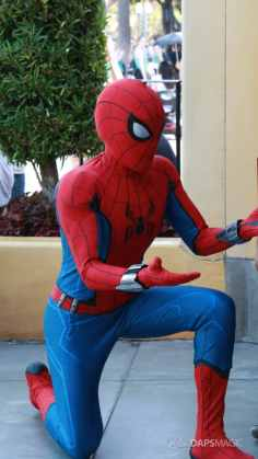 Spider-Man With New Suit at Disney California Adventure-8