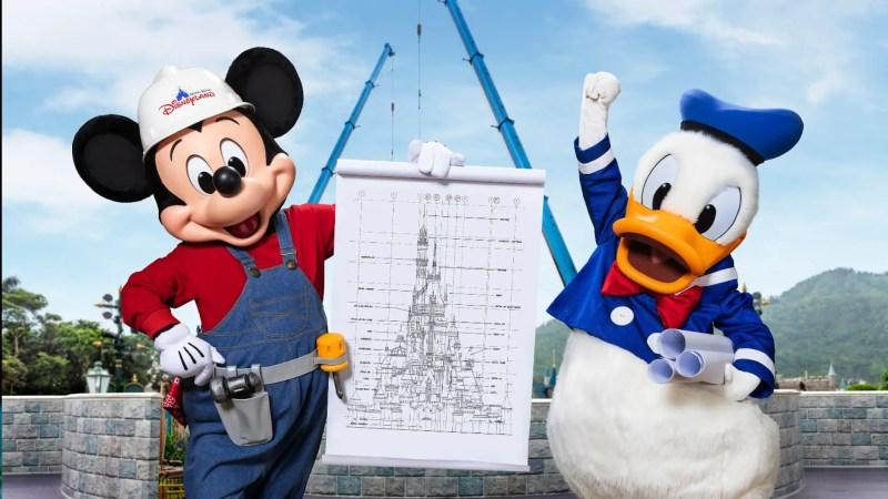 Hong Kong Disneyland Castle Plans