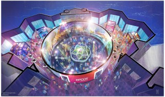 Guests will be able to visualize the exciting plans for Epcot when doors open Oct. 1, 2019, for Walt Disney Imagineering presents the Epcot Experience. They will discover engaging and interactive exhibits that showcase the relentless innovation, energy, and excitement driving the park's future. (Disney)