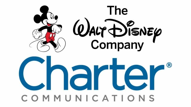 Disney and Charter Logos