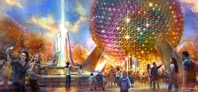 family-oriented epcot