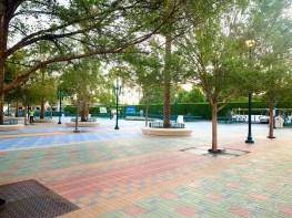 Disneyland Resort Parking Lot Pedestrian Bridge and Plaza-4