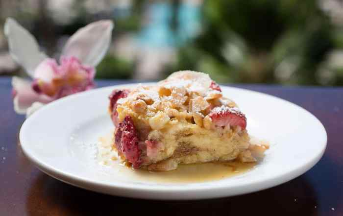 Strawberry Macadamia French Toast Bake