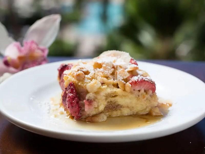Strawberry Macadamia French Toast Bake