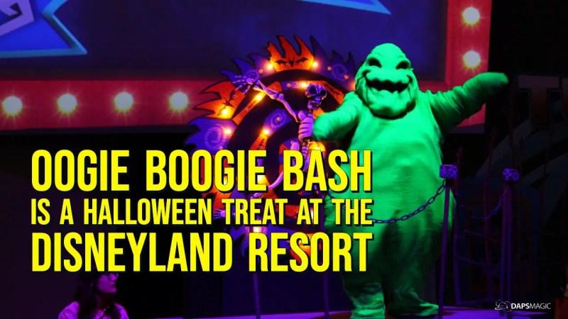 Oogie Boogie Bash is a Halloween Treat at the Disneyland Resort