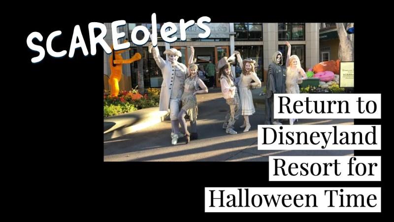 SCAREolers Return to Disneyland Resort for Halloween Time