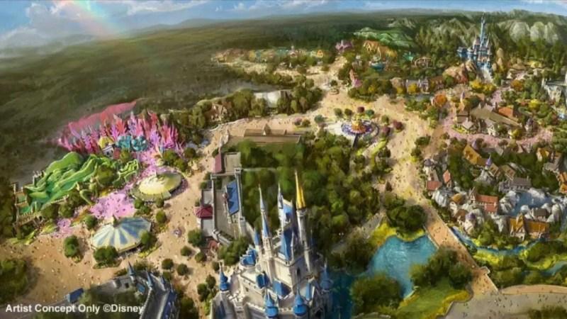 Tokyo Disneyland New Fantasyland Concept Art