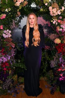 NEW YORK, NEW YORK - OCTOBER 16: Designer Olivia von Halle attends the Olivia von Halle x Disney Maleficent: Mistress of Evil event at The High Line Hotel on October 16, 2019 in New York City. (Photo by Craig Barritt/Getty Images for Disney)