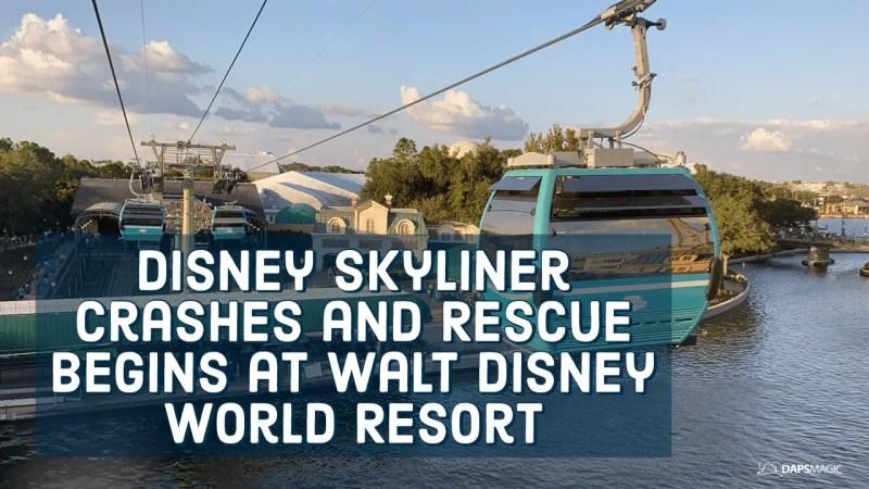 Disney Skyliner Crashes