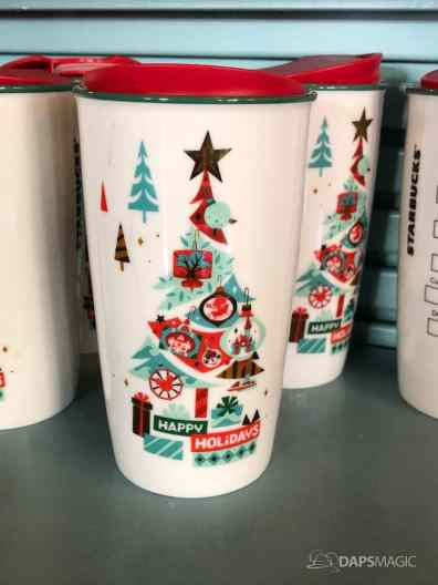 Disney Parks Starbucks Holiday Tumbler and Ornament-1