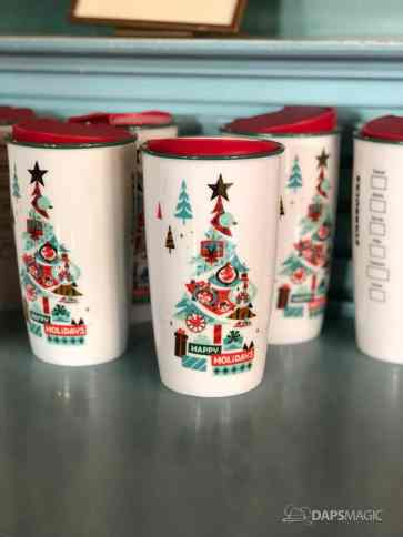 Disney Parks Starbucks Holiday Tumbler and Ornament-2