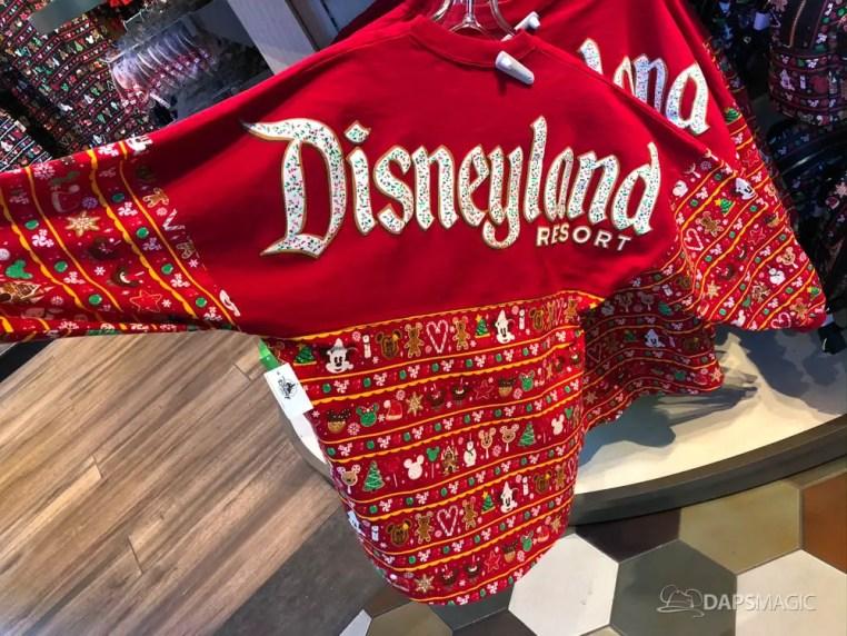 Disneyland Resort Holiday Time Merchandise 2019-2