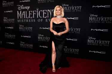 """HOLLYWOOD, CALIFORNIA - SEPTEMBER 30: Soundtrack artist Bebe Rexha attends the World Premiere of Disney's """"Maleficent: Mistress of Evil"""" at the El Capitan Theatre on September 30, 2019 in Hollywood, California. (Photo by Alberto E. Rodriguez/Getty Images for Disney)"""
