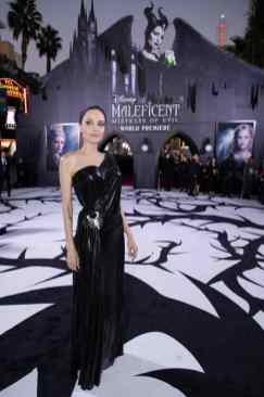 "Angelina Jolie attends the World Premiere of Disney's ""Maleficent: Mistress of Evil"" at the El Capitan Theatre in Hollywood, CA on September 30, 2019 .(photo: Alex J. Berliner/ABImages)"