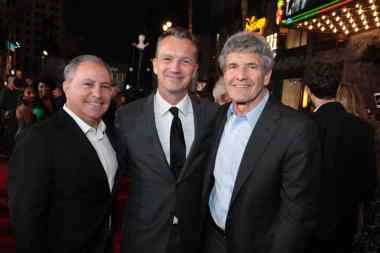 """Alan Bergman, Sean Bailey and Alan Horn attend the World Premiere of Disney's """"Maleficent: Mistress of Evil"""" at the El Capitan Theatre in Hollywood, CA on September 30, 2019. Alan Horn is Co-Chairman and Chief Creative Officer of The Walt Disney Studios. Alan Bergman is Co-Chairman, The Walt Disney Studios (photo: Alex J. Berliner/ABImages)"""