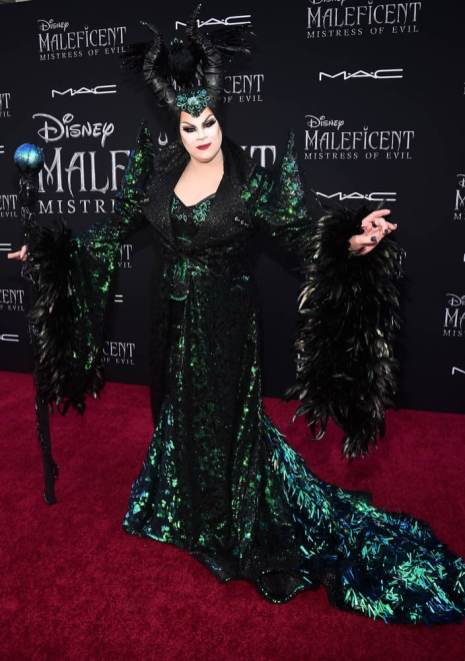"HOLLYWOOD, CALIFORNIA - SEPTEMBER 30: Nina West attends the World Premiere of Disney's ""Maleficent: Mistress of Evil"" at the El Capitan Theatre on September 30, 2019 in Hollywood, California. (Photo by Alberto E. Rodriguez/Getty Images for Disney)"