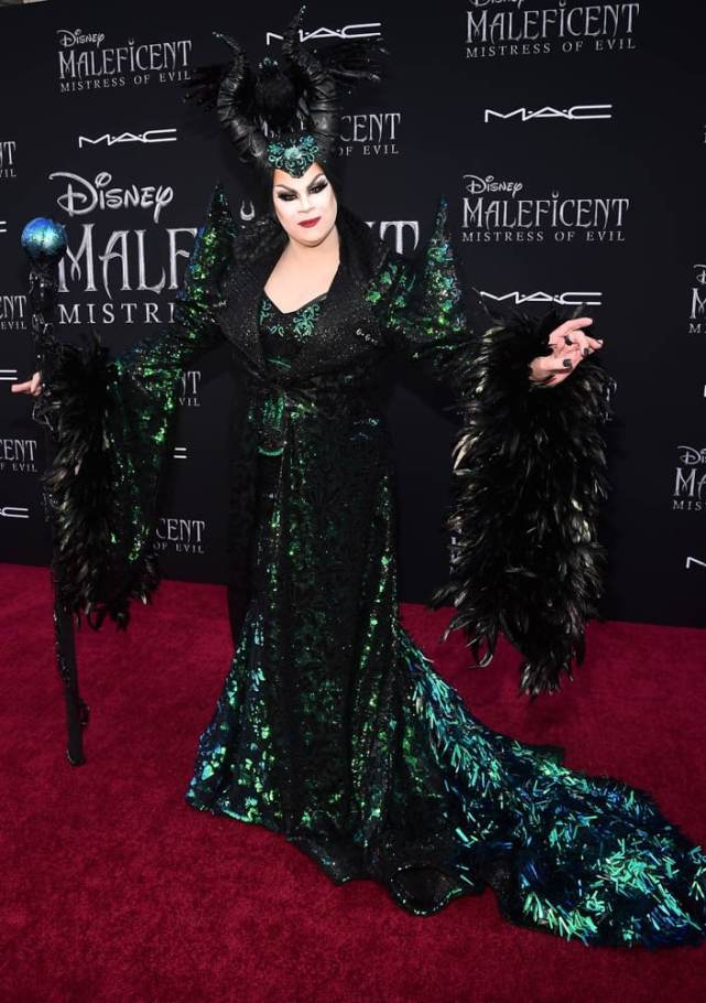 """HOLLYWOOD, CALIFORNIA - SEPTEMBER 30: Nina West attends the World Premiere of Disney's """"Maleficent: Mistress of Evil"""" at the El Capitan Theatre on September 30, 2019 in Hollywood, California. (Photo by Alberto E. Rodriguez/Getty Images for Disney)"""