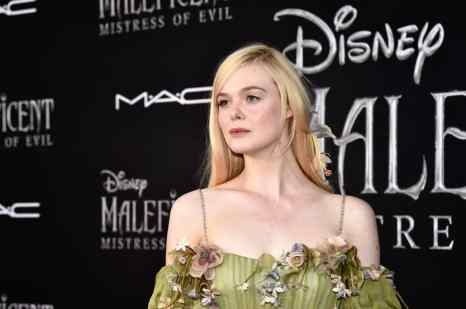 """HOLLYWOOD, CALIFORNIA - SEPTEMBER 30: Actor Elle Fanning attends the World Premiere of Disney's """"Maleficent: Mistress of Evil"""" at the El Capitan Theatre on September 30, 2019 in Hollywood, California. (Photo by Alberto E. Rodriguez/Getty Images for Disney)"""