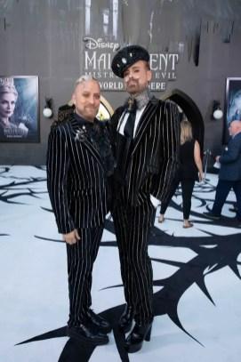 Gregory Arlt and Jon Lieckfelt attend the World Premiere of DisneyÕs ÒMaleficent: Mistress of EvilÓ at the El Capitan Theatre in Hollywood, CA on September 30, 2019 .(photo: Alex J. Berliner/ABImages)