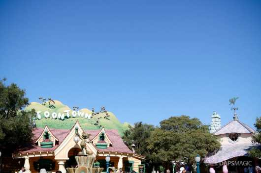 Mickeys Toontown Without Hills at Disneyland-9