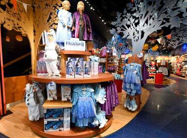 NEW YORK, NEW YORK - OCTOBER 04: Frozen fans attend midnight opening on October 04, 2019 at Disney Store Times Square in New York City. (Photo by Noam Galai/Getty Images for Disney)