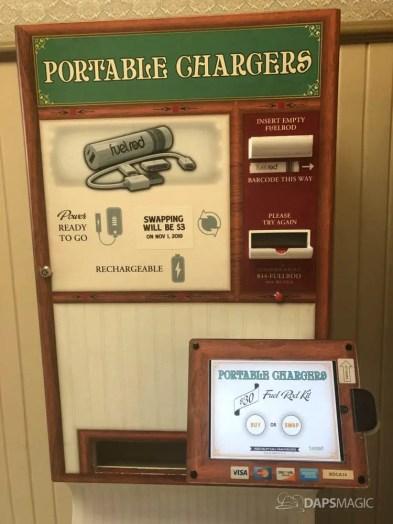 Portable Chargers Disneyland Swap Price Change